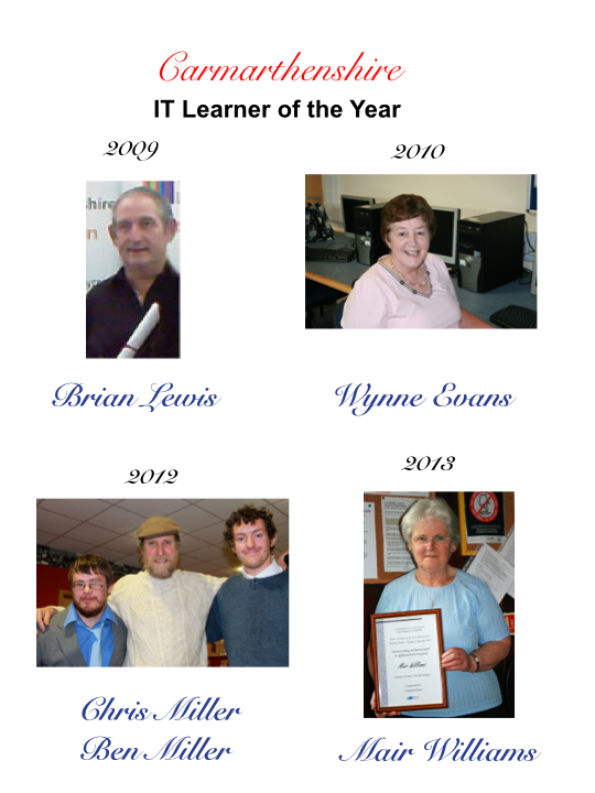 Carmarthenshire IT Learner of the Year