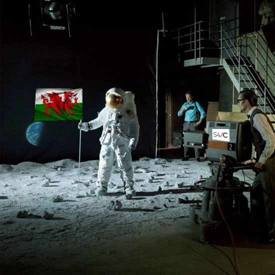 Welsh Moon Landing