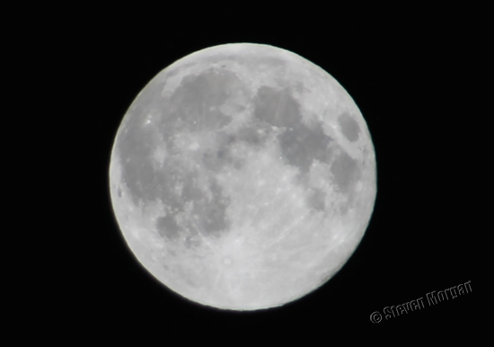 Super Moon - 10th August 2014