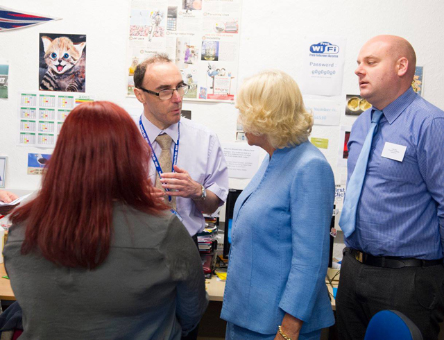 HRH The Duchess Of Cornwall Visit To Llandovery YMCA