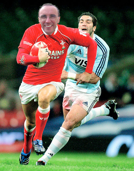 Another Morgan Playing For Wales!!